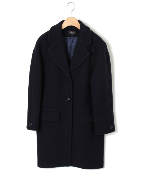 A.P.C.(アーベーセ)A.P.C. (アー・ペー・セー) コート サイズ:Sの古着・服飾アイテム