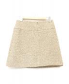 CHANEL(シャネル)の古着「ツイードスカート」|ブラウン
