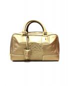 LOEWE(ロエベ)の古着「ハンドバッグ」|ゴールド
