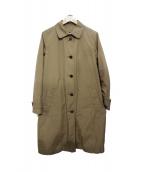 MHL.(エムエイチエル)の古着「ダウンライナー付ステンカラーコート」