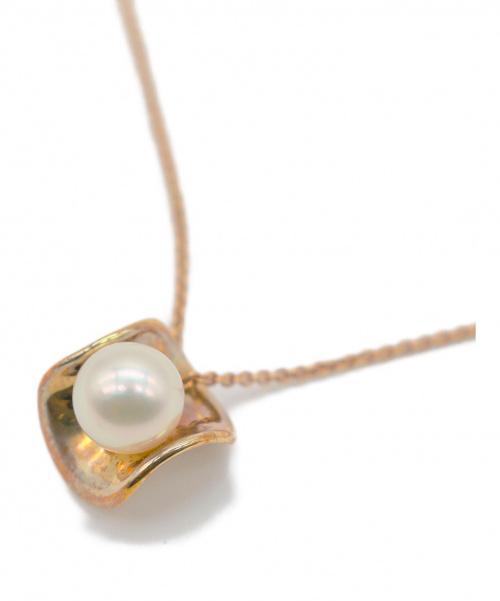MIKIMOTO(ミキモト)MIKIMOTO (ミキモト) パール18金ネックレス K18 7g 真珠の古着・服飾アイテム