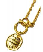 CHANEL(シャネル)の古着「カンボンプレートネックレス」