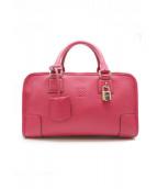 LOEWE(ロエベ)の古着「ハンドバッグ/アマソナ28」|ピンク