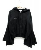 FACETASM(ファセッタズム)の古着「ジップパーカー」|ブラック