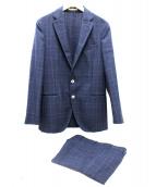 BOGLIOLI(ボリオリ)の古着「2Bスーツ」 ネイビー