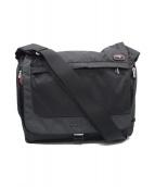 TUMI(トゥミ)の古着「エクスパンダブルメッセンジャーバッグ」 ブラック