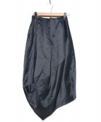 ARMANI(アルマーニ)の古着「シルクスカート」|グレー