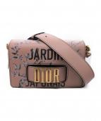 Christian Dior(クリスチャン ディオール)の古着「ジャルダンジャポネ/ショルダーバッグ」 ピンク