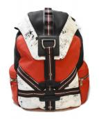 DIOR HOMME(ディオールオム)の古着「クラックデザインバックパック/リュック」
