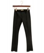 THE ROW(ザ ロウ)の古着「ストレッチパンツ」 ブラック