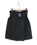 3.1 phillip lim(スリーワン フィリップ リム)の古着「ベルト付スカート」|ブラック