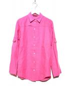 Loro Piana(ロロ ピアーナ)の古着「リネンシャツ」 ピンク