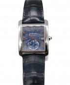 Cartier(カルティエ)の古着「リストウォッチ」|ブルー