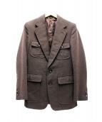 LOUIS VUITTON(ルイ・ヴィトン)の古着「サファリジャケット」|ブラウン