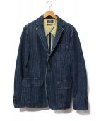 RALPH LAUREN(ラルフローレン)の古着「デニム3Bジャケット」 インディゴ