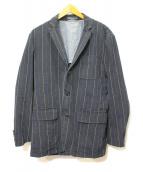 POLO RALPH LAUREN(ポロラルフローレン)の古着「ストライプジャケット」|ネイビー