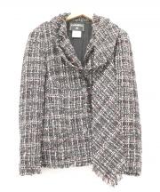 CHANEL(シャネル)の古着「ツイードジャケット」|ブラック