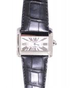 Cartier(カルティエ)の古着「タンクディヴァンLM」|ホワイト