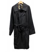 Yves Saint Laurent(イヴサンローラン)の古着「トレンチコート」|ブラック