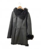 DoCLASSE(ドゥクラッセ)の古着「毛皮コート」 ブラック