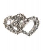NO BRAND JEWELRY(ノーブランドジュエリー)の古着「ハートデザインダイヤモンドリング」