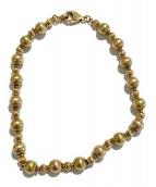 K18 Bracelet(18金 ブレスレット)の古着「ボールチェーンブレスレット」