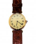 Cartier(カルティエ)の古着「リストウォッチ/マストヴァンドーム ヴェルメイユ」
