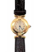 Cartier(カルティエ)の古着「リストウォッチ/マストコリゼ ヴェルメイユ」