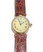 Cartier(カルティエ)の古着「腕時計/ヴァンドーム」