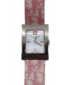 Christian Dior(クリスチャンディオール)の古着「マリス クォーツ腕時計」|文字盤:shell