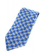 HERMES(エルメス)の古着「ネクタイ」 ブルー