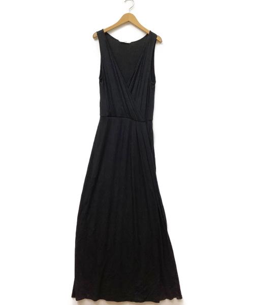 THREE DOTS(スリードッツ)THREE DOTS (スリードッツ) ワンピース ブラック サイズ:S 春夏物の古着・服飾アイテム