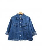 Americana(アメリカーナ)の古着「デニムジャケット」|インディゴ