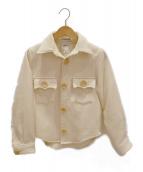 MADISON BLUE(マディソンブルー)の古着「CPOジャケット」|ホワイト