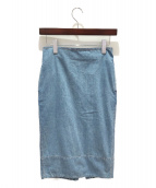 MADISON BLUE(マディソンブルー)の古着「ソフィータイトロングデニムスカート」