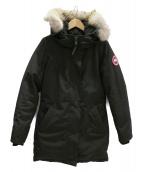 CANADA GOOSE(カナダグース)の古着「ダウンジャケット/ヴィクトリア」|ブラック