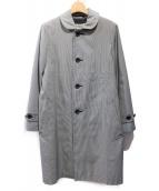 robe de chambre COMME des GARCONS(ローブドシャンブルコムデギャルソン)の古着「ステンカラーコート」|グレー