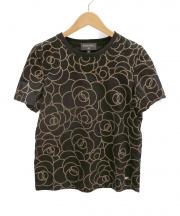 CHANEL(シャネル)の古着「カメリアTシャツ」|ブラック