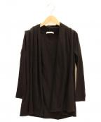 THE ROW(ザ ロウ)の古着「トッパーカーディガン」|ブラック