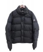 MONCLER(モンクレール)の古着「EVEREST/ウールダウンジャケット」|ブラック