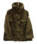 MONCLER(モンクレール)の古着「フード付きジャケット」|オリーブ