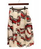 BLAMINK(ブラミンク)の古着「プリーツスカート」 ホワイト