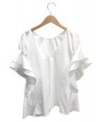 ADEAM(アディアム)の古着「ブラウス」|ホワイト
