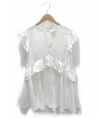 ADEAM(アディアム)の古着「チュニックブラウス」|ホワイト