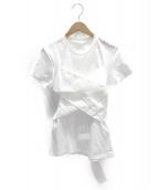 ADEAM(アディアム)の古着「カットソー」|ホワイト