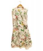 BLAMINK(ブラミンク)の古着「花柄ワンピース」|ホワイト