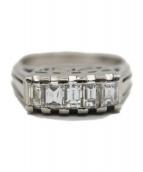 Pt900 Diamonds Ring(Pt900 ダイヤモンドリング)の古着「リングダイヤモンド」