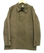 HANCOCK(ハンコック)の古着「ステンカラーコート」|ブラウン