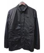 MONCLER(モンクレール)の古着「LEOPOLD/ナイロンブルゾン」|ブラック