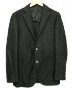 TOMORROW LAND(トゥモローランド)の古着「ウールモヘアジャケット」|ネイビー